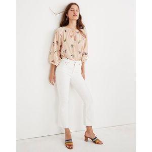 NWT Madewell Cali Demi-Boot Jeans